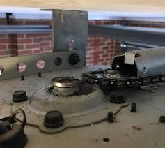 guardian garage door opener broken gear