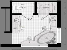 Master Bathroom Design Layout Small Master Bathroom Floor Plans - Master bathroom layouts