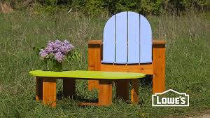 Lowes adirondack chair plans Design How To Build An Adirondack Chair Youtube How To Build An Adirondack Chair Youtube