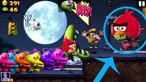 Rainbow Zombies vs Angry Birds