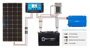 solar calculator and diy wiring diagrams van build inspiration