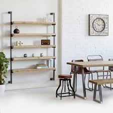 shelving unit wall mounted