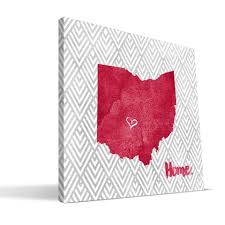 ohio state gifts ohio state buckeyes decor osu paulson designs