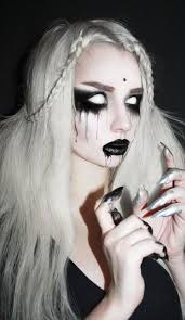 40 dreadfully beautiful makeup ideas to try this salongenie net 40 dreadful makeup idea for