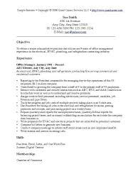 Resume Objective General Statement
