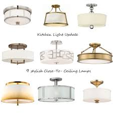 Ceiling Kitchen Lights Ceiling Kitchen Lights Allen Roth Vallymede Barn Multilight Clear