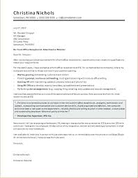 Examples Of Cover Letters For Receptionist Receptionist Cover Letter