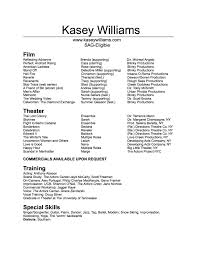 100 Child Actor Sample Resume Can You Use I In A Resume