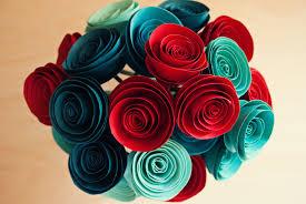 Paper Flower Bouquet Tutorial Diy Paper Flowers Tutorial A Simple Pantry