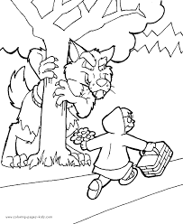 Fairy Tale Color Page Free Printable Coloring Sheets For Kids
