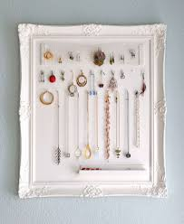Framed jewelry displays.