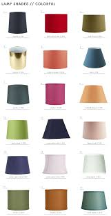 emily henderson textured patterned colorful lamp shades colorful 11