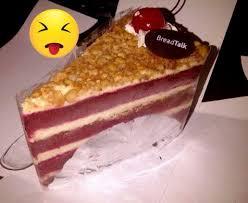 Red Velvet Cake Breadtalk Foto Di Fatmawati Jakarta Openrice