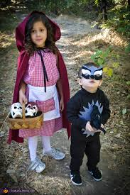 little red riding hood the big bad wolf costume