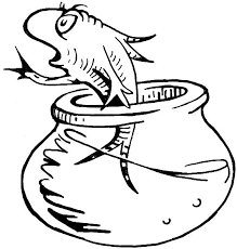 Small Picture Awesome Cat Hat Fish Coloring Pages Images New Printable