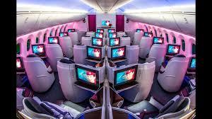 Cabin Tour Qatar Airways Boeing 787 8
