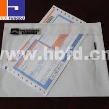 Fangda Made Paste On Carton Air Waybill Pouch Buy Air Waybill