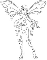 Image Result For Winx Club Bloomix Coloring Pages Coloriages