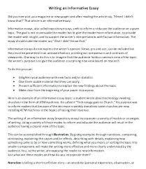 Sample Informative Essay Examples Trezvost