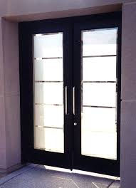 modern glass front door modern stained glass front doors