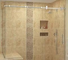 swinging shower door glass glass shower doors and enclosures in framed shower door glass thickness
