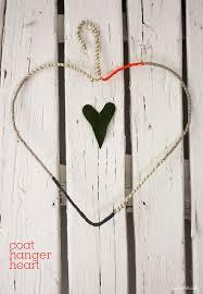 coat hanger heart by Sania Pell