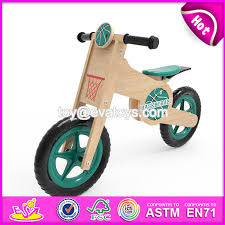 china newest design boys sport style basketball pattern wooden balance bicycle for kids w16c180 china bicycle for kids balance bicycle for kids