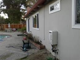 exterior water heaters. los altos - noritz tankless water heater nr98-odng exterior heaters r
