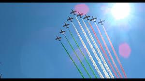 2 Giugno 1946-2021 Festa della Repubblica 2021 - Passaggi Frecce Tricolori  sopra i Fori Imperiali! - YouTube