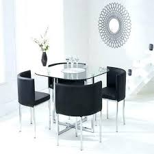 4 dining chairs four dining room chairs stowaway dining table and 4 dining chairs in black
