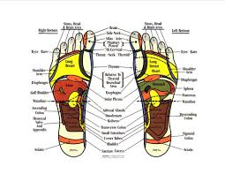 Reiki Foot Chart Foot Reflexology