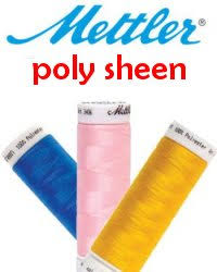 Mettler Poly Sheen Thread