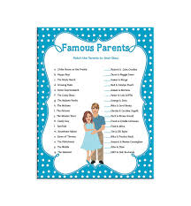 Outstanding Famous Moms Baby Shower Game 57 With Additional Famous Mothers Baby Shower Game