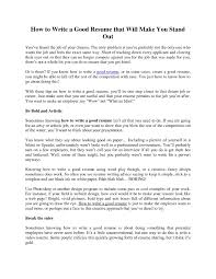 Free Resum Good Summary for Job Resume Best Of Sample Video Resume Script 36