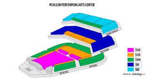 56 Paradigmatic Mcallen Civic Center Auditorium Seating Chart