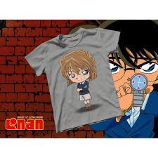 HOT- Áo thun Cotton Unisex - Anime - Conan - Haibara chibi - hàng độc quyền