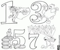 Lots of resources of sesame street printables coloring pages for your beloved kids or student that you can download for free from 101printable. Sesame Street Numbers Coloring Pages Printable Games