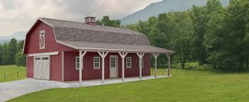 Small Barn Designs Dutch Barn With Lean To Gambrel Barn Barn Garage Small Barns