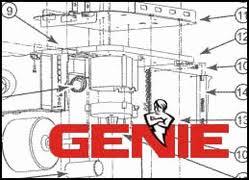 genie parts breakdown and schematics genie garage door opener parts breakdown and schematics