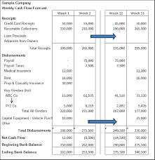 Cash Flow Forecasting Graystone Capital Remarkabl