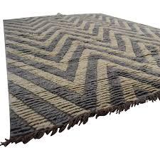 90 off room board kuba bokila white and grey rug