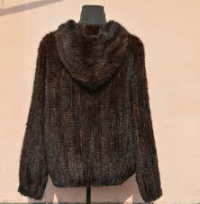 ms ing real mink fur clothes wool woven fur coats hooded thickening bigger sizes fashion knitwear