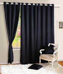 Swayam Single Long Door Blackout Eyelet Curtain ...