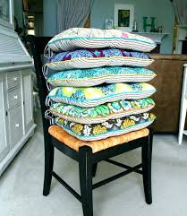 blue kitchen chair pads kitchen chair pads with ties or kitchen chair cushion ruffled kitchen chair