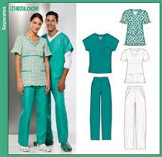Scrub Top Patterns New New Look 48 Misses Men And Teens Scrub Tops And Pants Misses
