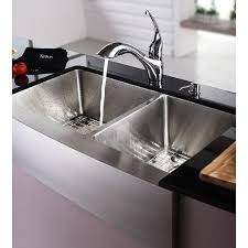 kraus khf203 36 kitchen sink stainless steel a front