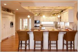 Eat In Kitchen Design Ideas And Long Kitchen Designs By Decorating Your  Kitchen With The Purpose Of Carrying Bewitching Sight 32