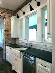 pendant light over sink above height per