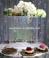 hanging crystals for wedding centerpieces. crystal flower centerpiece, hanging centerpieces wholesale crystals for wedding l