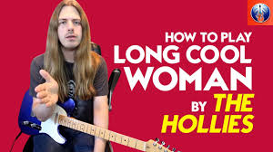 How To Play Long Cool Woman In A Black Dress Long Cool Woman In